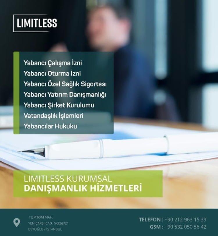 Limitless Kurumsal Danışmanlık Hizmetleri - Yabancı Yasal İzinleri