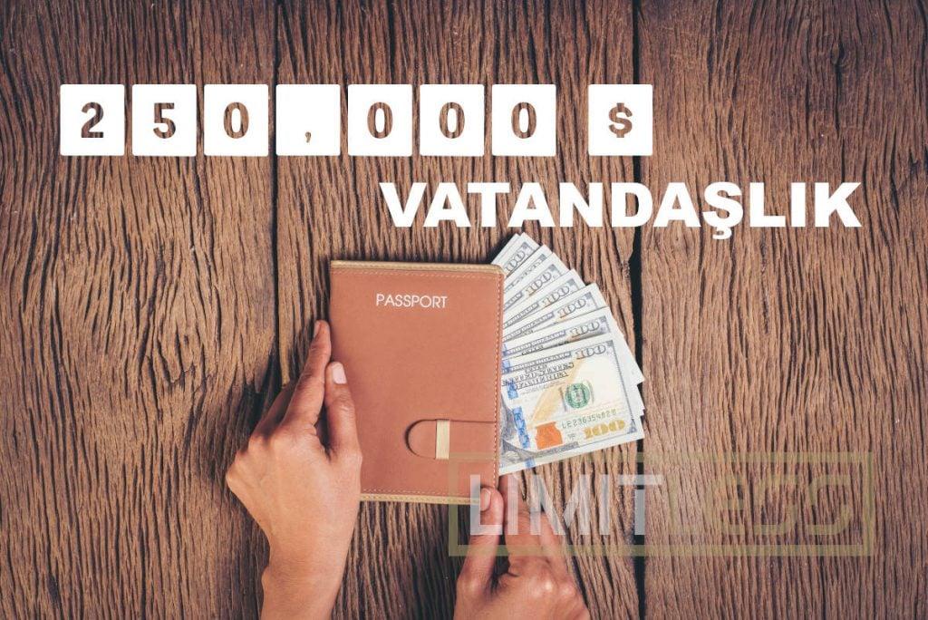 250 Bin Dolara Vatandaşlık